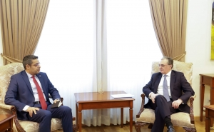 Armenia's FM Received Syrian Ambassador and Expressed Deep Appreciation for Recognition of Armenian Genocide