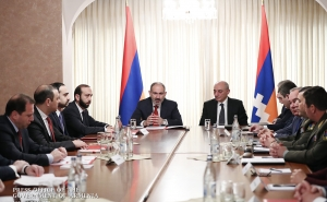 """Interaction between Armenia and Artsakh is the key to our people's security"": Nikol Pashinyan"
