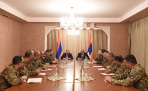 Bako Sahakyan and Nikol Pashinyan Convened a Working Consultation