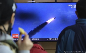 North Korea Launches Two Short-Range Ballistic Missiles