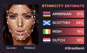 Kim Kardashian Shares App Results that Shows Her Nationality