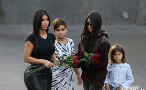 I Definitely will Come Back with My Family to Armenia: Kourtney Kardashian