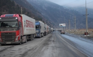 Larsi Highway Is Open Only For Trucks