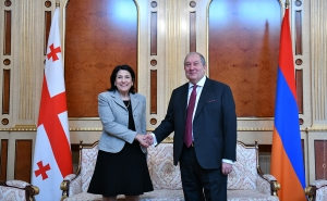 Armenia's President Sent a Congratulatory Message to Salome Zurabishvili