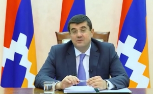 Karabakh President to Azerbaijan Counterpart: Have You Chosen Path to Solving Issue Through Force?