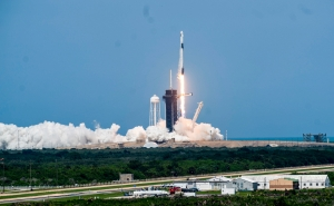 SpaceX Sends Astronauts Into Orbit