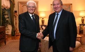 Armen Sarkissian Sent A Congratulatory Message To The President Of Italy