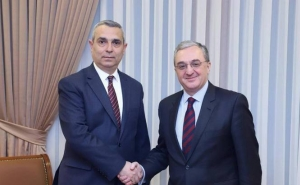 ohrab Mnatsakanyan Congratulated Masis Mayilian on his Reappointment as Foreign Minister of Artsakh