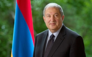 Armenian President Congratulates Queen Margrethe II of Denmark on National Day