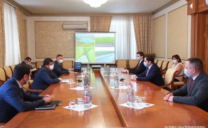 Artsakh Republic President Received Republic of Armenia Minister of Territorial Administration and Infrastructures Souren Papikyan