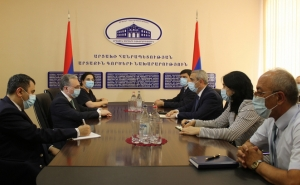 Minister of Foreign Affairs of the Republic of Artsakh Masis Mayilian Held a Meeting With Minister of Foreign Affairs of Armenia Zohrab Mnatsakanyan