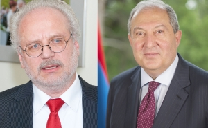 President Armen Sarkissian Spoke on the Phone with the President of Latvia: Two Countries Possess Serious Potential for Cooperation