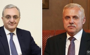 Armenian FM Holds Phone Talks with CSTO Secretary General Stanislav Zas