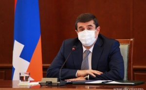 No Threat Can Force the People of Artsakh to Deviate from the Chosen Path: President Harutyunyan Convened an Enlarged Consultation