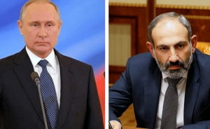 Putin, Pashinyan Hold Phone Conversation