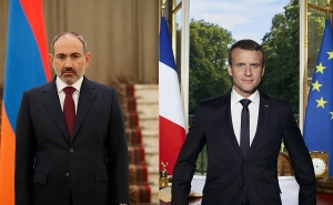 Nikol Pashinyan Holds Telephone Conversation with Emmanuel Macron