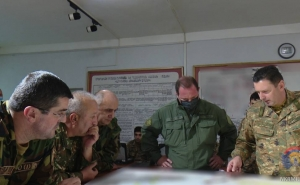Arayik Harutyunyan and David Tonoyan Visited the Operations Control Center