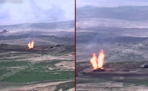 Azerbaijani Armed Forces Lose 29 Tanks and Equipment, Suffer 130 Casualties