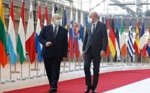 President of the European Council Discussed Nagorno-Karabakh with Armenian President