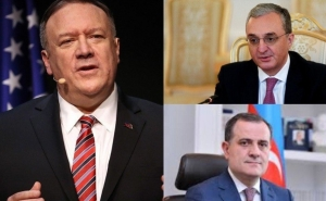 Mike Pompeo Will Meet Armenian and Azerbaijani MFAs Today At 09:30 And 10:30 EDT