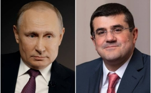 Artsakh President Asks Russia's President to Exert Efforts to Cease Hostilities in Karabakh and Resume Negotiations