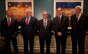 Armenia's Foreign Minister Met with the OSCE Minsk Group Co-Chairs