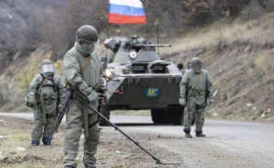 Russian peacekeepers defuse nearly 1,000 explosives in Karabakh