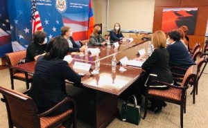 Lynne Tracy Stresses US Commitment to Efforts to Pursue Lasting, Sustainable Solution to Karabakh Conflict