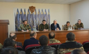 Arayik Harutyunyan Had A Meeting Today With Families Of Soldiers Who Have Been Captured Or Declared Missing