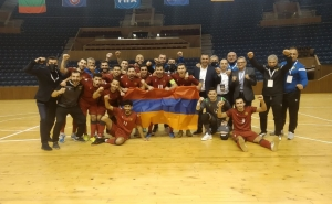 Armenia is in Futsal EURO 2022 Qualifying Group Stage