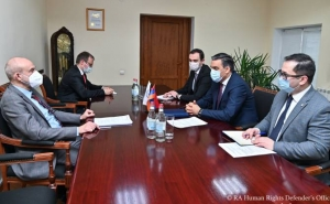 Ombudsman Tatoyan, German Ambassador Discuss Return of Armenian POWs from Azerbaijan