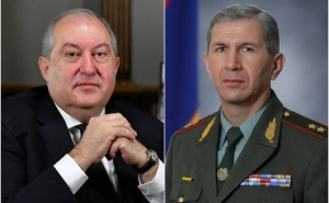 Armenia President Decides to Not Sign Draft Decree on Dismissing Army's General Staff Chief