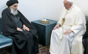 Pope Francis, Ayatollah Ali al-Sistani Hold Closed Meeting in Iraq