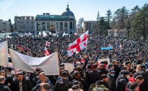 """В Грузии протестуют против строительства ГЭС """"Намахвани"""""""